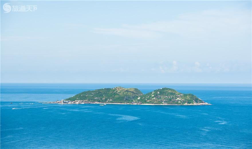 俯瞰分界洲岛