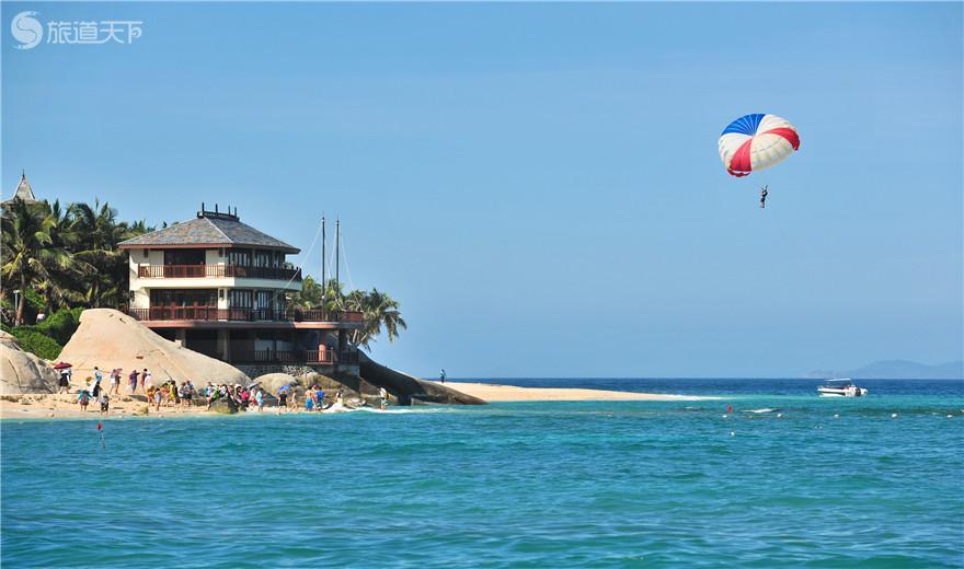 分界洲岛海浴场