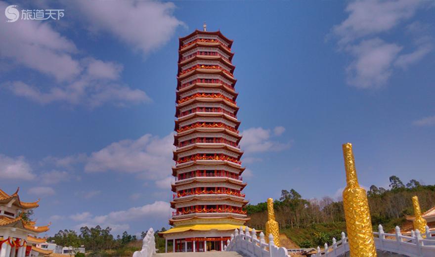 澄迈金山寺-万福长寿药师塔