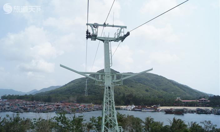 陵水南湾猴岛缆车