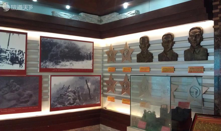 陵水苏维埃政权旧址-展览馆一角